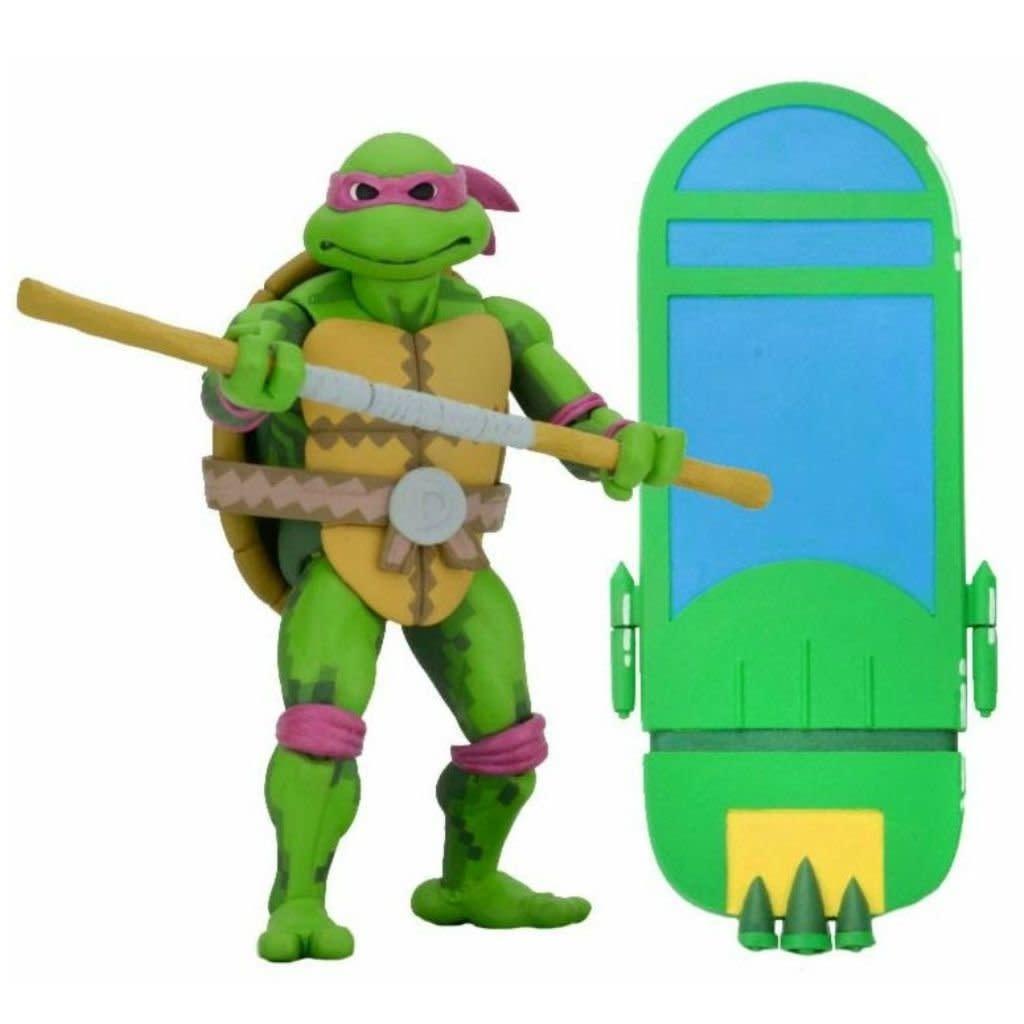 NECA Turtles in Time: Donatello Figure