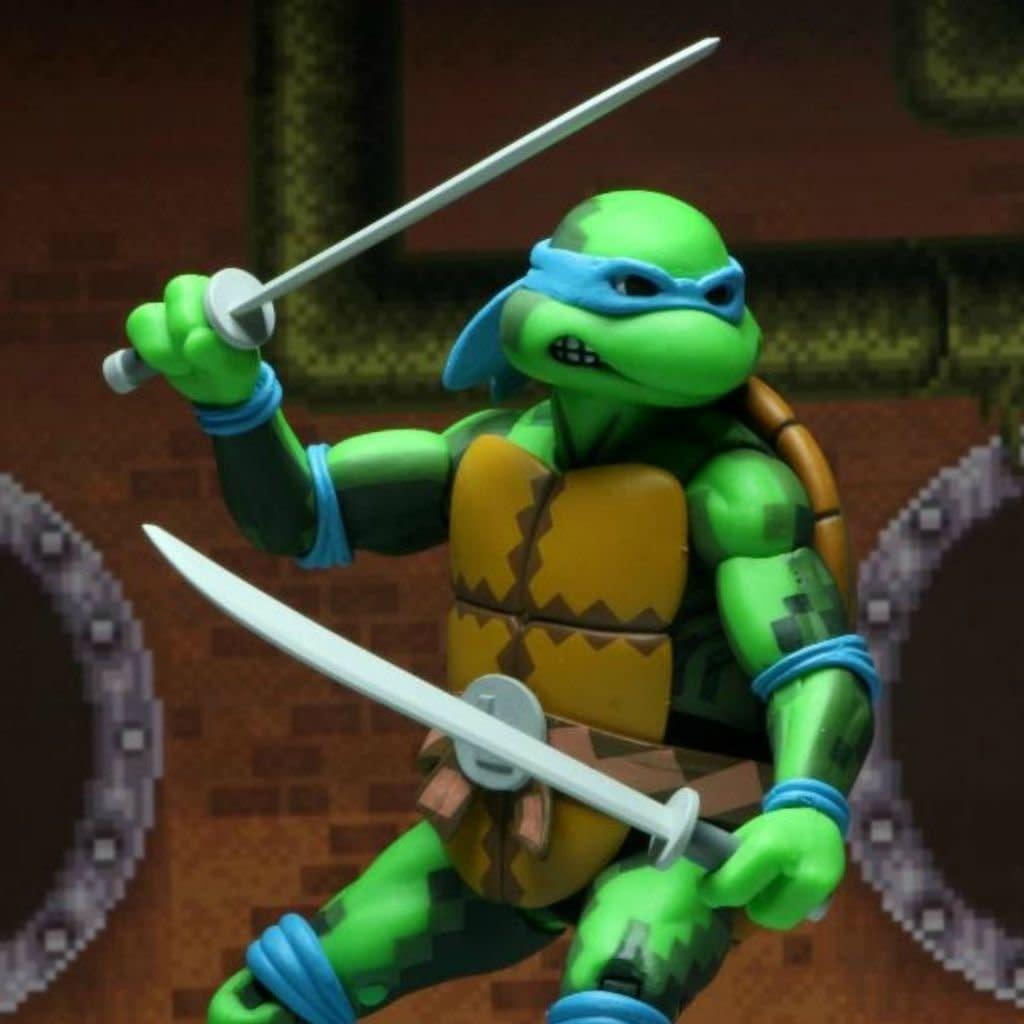 NECA Turtles in Time: Leonardo Figure
