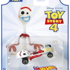 Mattel Toy Story 4: Forky Hot Wheels