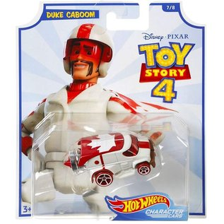 Mattel Toy Story 4: Duke Caboom Hot Wheels