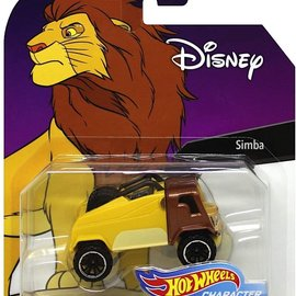 Mattel Disney: Simba Hot Wheels Series 4