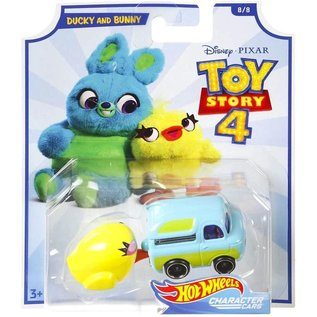 Mattel Toy Story 4: Ducky and Bunny Hot Wheels