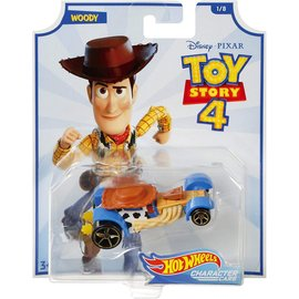 Mattel Toy Story 4: Woody Hot Wheels