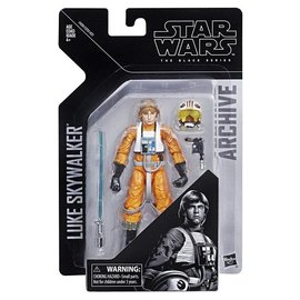 "Hasbro Star Wars Black Series: Archive Luke Skywalker Pilot 6"" Figure"