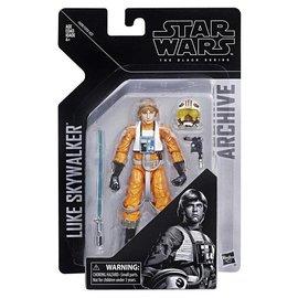 "Hasbro Star Wars Black Series: Archive Luke Skywalker Pilot 6"" Figure"