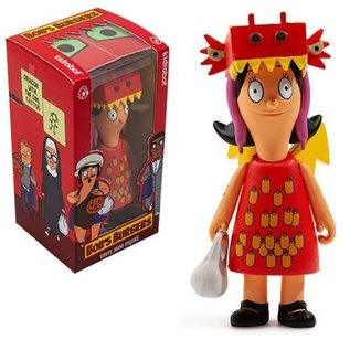 Kidrobot Bob's Burgers: Louise Dragon with a Girl Tattoo Figure