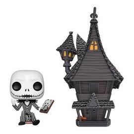 Funko Nightmare Before Christmas: Jack w/ Jack's House Pop Town