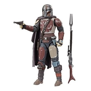 "Hasbro Star Wars: The Mandalorian Black Series 6"" Figure"