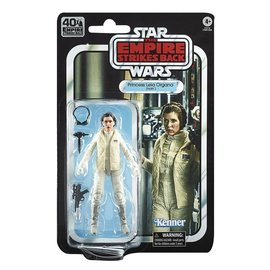 "Hasbro Star Wars Black Series: ""The Empire Strikes Back"" 40th Anniversary Princess Leia 6"" Figure"