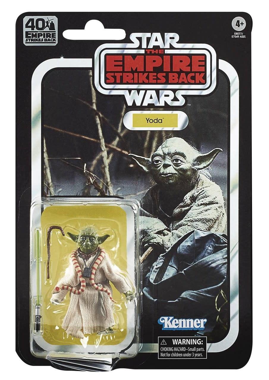 "Hasbro Star Wars Black Series: ""The Empire Strikes Back"" 40th Anniversary Yoda 6"" Figure"