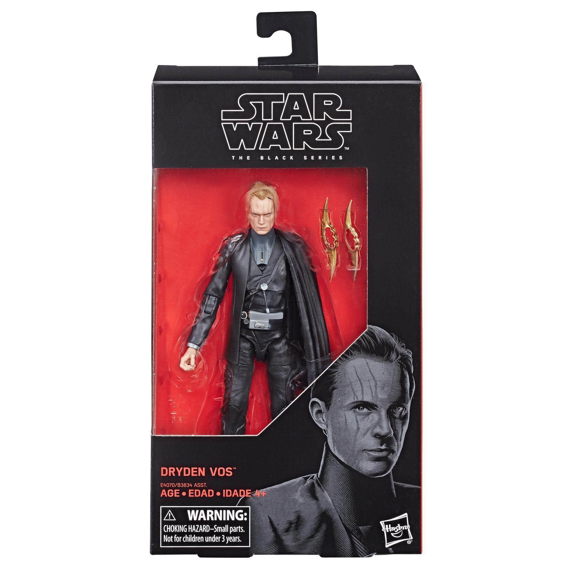 "Hasbro Star Wars Black Series: Dryden Voss 6"" Figure"