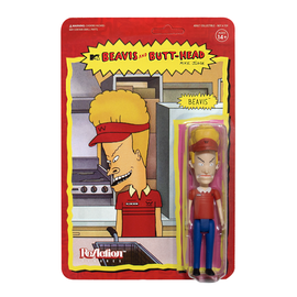 Super 7 Beavis and Butthead: Burgerworld Beavis ReAction Figure