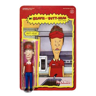 Super 7 Beavis and Butthead: Burgerworld Butthead ReAction Figure