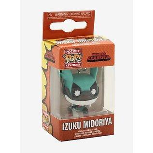 Funko My Hero Academia: Izuku Midoriya with Helmet Pocket POP! Keychain