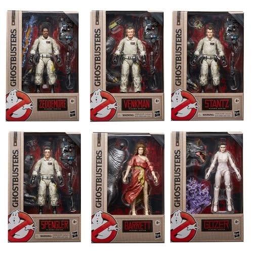 "Hasbro GhostBusters: Plasma Series 6"" Figure set of 6"