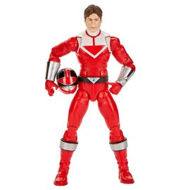 """Hasbro Power Rangers: Time Force Red Ranger Lightning Collection 6"""" Figure"""