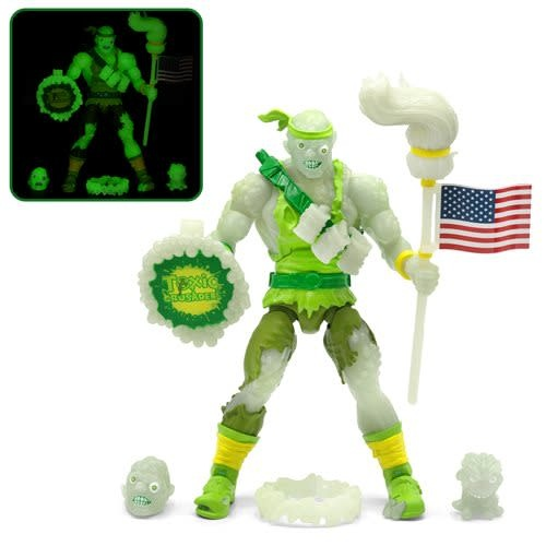 "Super 7 Toxic Crusaders: Toxie Glow In The Dark Entertainment Earth Exclusive 6"" Figure"