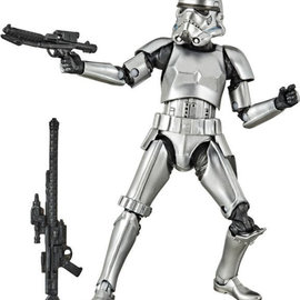 "Hasbro Star Wars Black Series: Carbonized Stormtrooper 6"" Figure"
