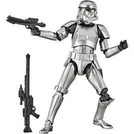 "Hasbro Star Wars Black Series: Carbonized Stormtrooper 6"" Figure"