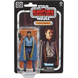 "Hasbro Star Wars Black Series: ""The Empire Strikes Back"" 40th Anniversary Lando Calrissian 6"" Figure"