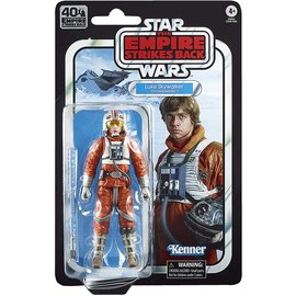 "Hasbro Star Wars Black Series: ""The Empire Strikes Back"" 40th Anniversary Luke Skywalker (Snowspeeder) 6"" Figure"