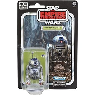 "Hasbro Star Wars Black Series: ""The Empire Strikes Back"" 40th Anniversary Artoo Detoo (R2-D2) (Dagobah) 6"" Figure"