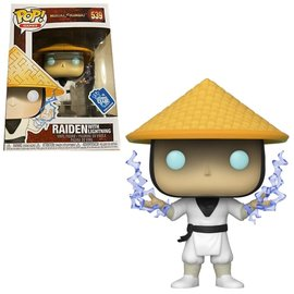 Funko Mortal Kombat: Raiden (with Lightning) Gamestop Exclusive Funko POP! #539