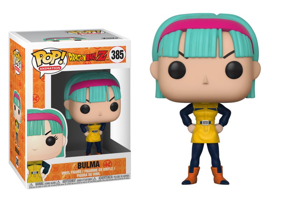 Funko Dragon Ball Z: Bulma Funko POP! #385