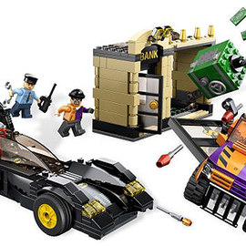 Lego Lego Superheroes 6864: Batmobile and the Two-Face Chase