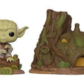 Funko Star Wars 40th Anniversary: Dagobah Yoda with Hut Funko POP! Town #11