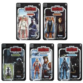 "Hasbro Star Wars Black Series:  ""The Empire Strikes Back"" 40th Anniversary Wave 2 6"" Figure Set of 5"