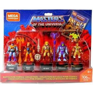 Mega Construx Masters of the Universe: Heroes Collector's Edition Mini-Figure 5-Pack