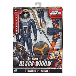 """Hasbro Marvel: Taskmaster Blast Gear 12"""" Titan Hero Series Figure"""