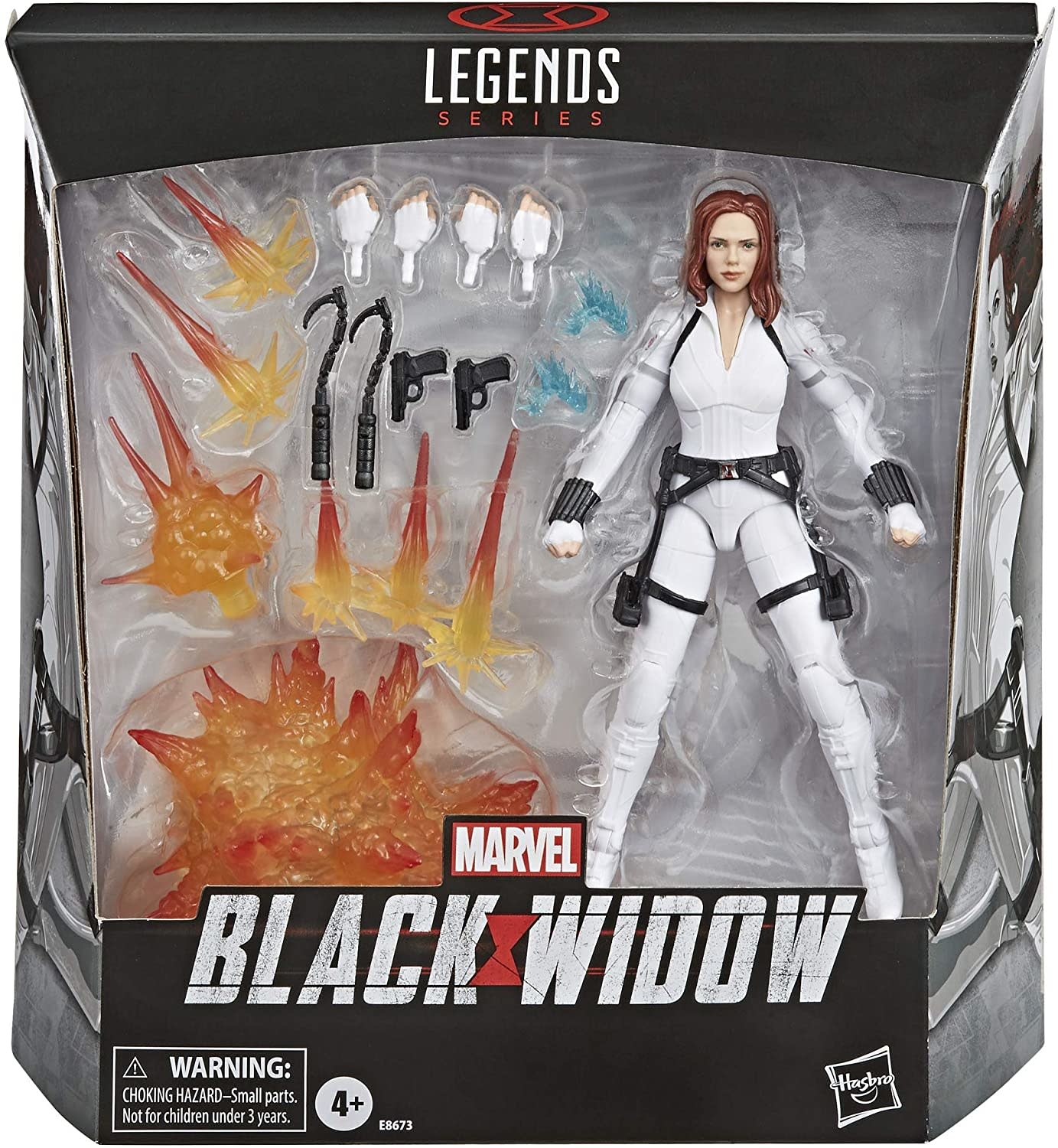 "Hasbro Marvel Legends: Black Widow Deluxe 6"" Figure"