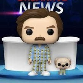 Funko Anchorman: Ron with Baxter 2020 Summer Convention Limited Edition Exclusive Funko POP! #948