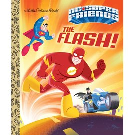 Golden Books Little Golden Book: Dc Super Friends The Flash