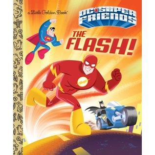 Golden Books Little Golden Book: Dc Super Friends The Flash