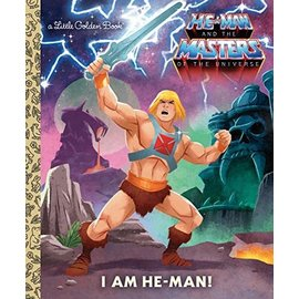 Golden Books Little Golden Book: I Am He-Man!