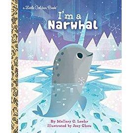 Golden Books Little Golden Book: I'm a Narwhal