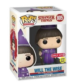 Funko Stranger Things 3: Will The Wise GITD Target Exclusive Funko Pop