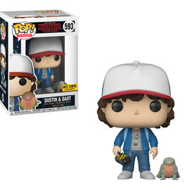 Funko Stranger Things: Dustin & Dart Hot Topic Exclusive Funko POP! #593