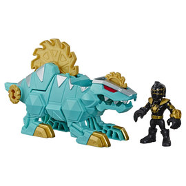 Hasbro Playskool Heroes Power Rangers: Black Ranger & Dimetrozord
