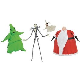 Diamond Select Toys Nightmare Before Christmas: Lighted Action Figure Box Set SDCC Previews Exclusive
