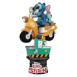Beast Kingdom Lilo and Stitch: Coin Ride DS-041 D-Stage 6-Inch Statue