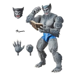 """Hasbro Marvel Legends: X-Men Retro Gray Beast 6"""" Action Figure - Exclusive"""