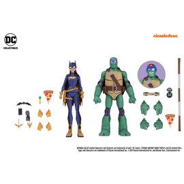 DC Collectibles Batman vs Teenage Mutant Ninja Turtles: Batgirl and Donatello Gamestop Exclusive Action Figure 2-Pack