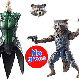 """Hasbro Marvel Legends: Guardians of the Galaxy Rocket Raccoon & Groot 6"""" Figure (NO GROOT)"""