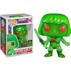 Funko Masters of the Universe: He-Man (Slime Pit) 2020 Spring Convention Shared Exclusive Sticker Funko POP! #952
