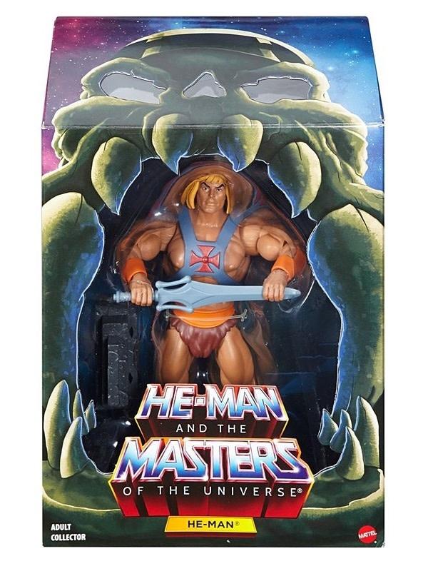 "Mattel Masters of the Universe: He-Man 6"" Club Grayskull"
