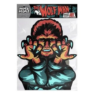 Super 7 Universal Monsters: Wolfman Paper People